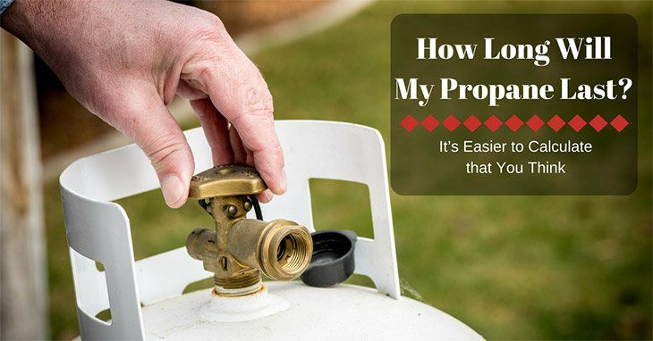 How long does a propane tank last it 39 s easier to - How long does a generator last ...