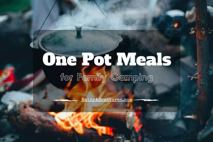 One pot camping meals