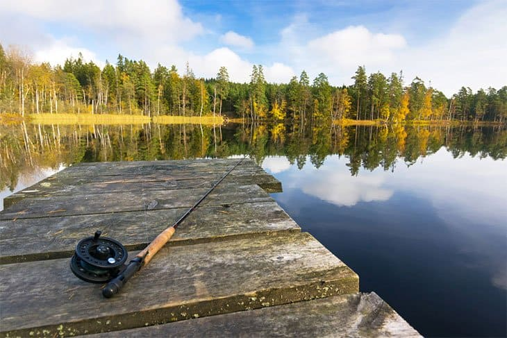 Fishing​-in-Silverwood-Lake​