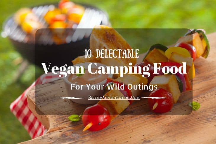 vegan camping food