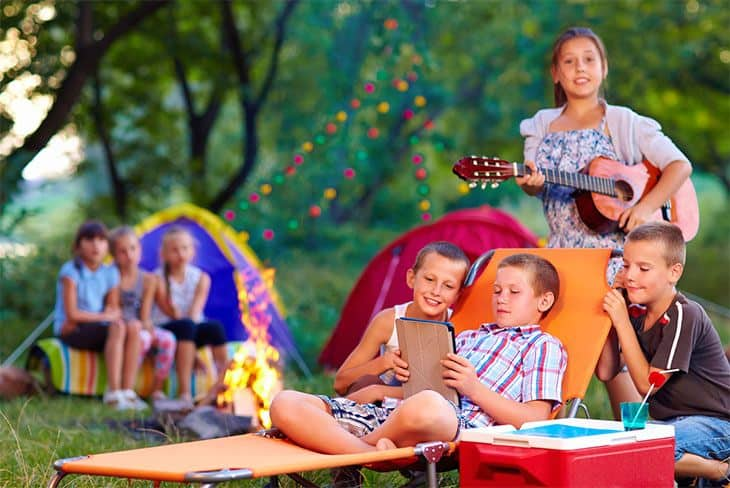 Camping with Kids Basics