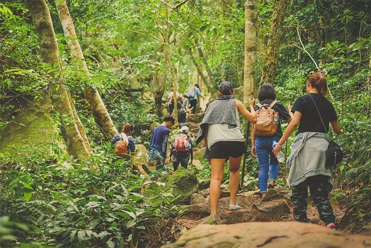 Hiking Is A Healthy Social Activity