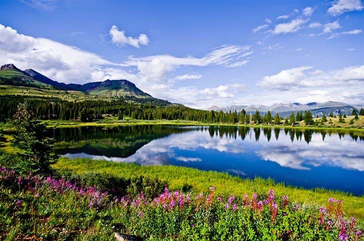 Little Molas Lake Campground - Site Description