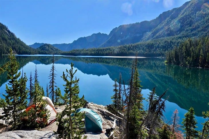 Tent-Campsite-or-Premium-Water-View-Small-RV-Little Molas Lake Campground