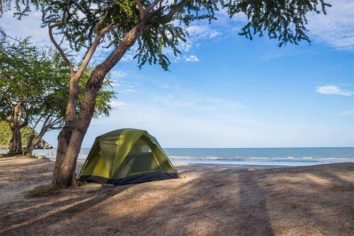 Beachside Camping Doheny State Beach Rainy Adventures