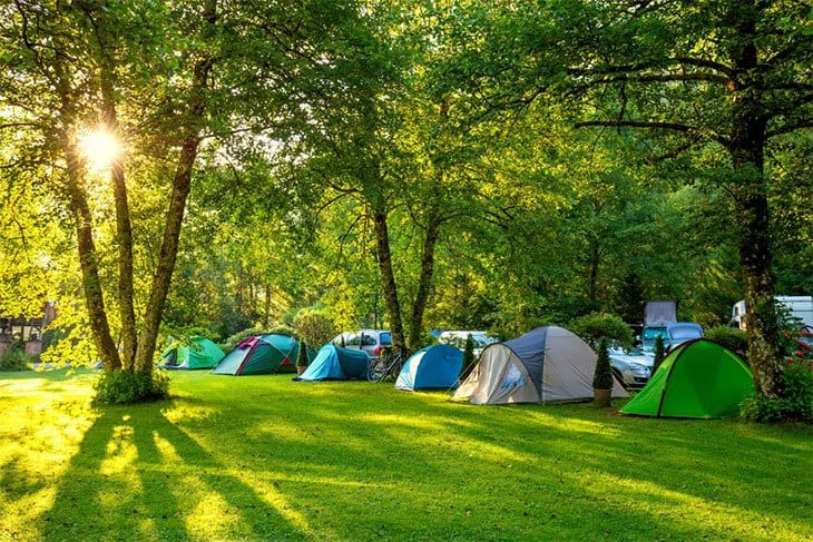 3. Settling For A Messy Campsite​