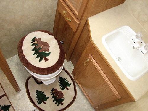 Dry Pop Up Camper Bathrooms