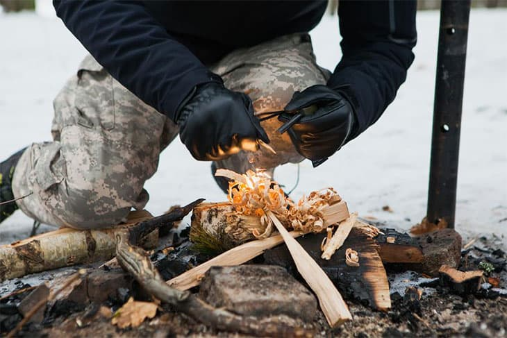 How To Start A Fire With Wet Wood: The Ultimate Complete Guide