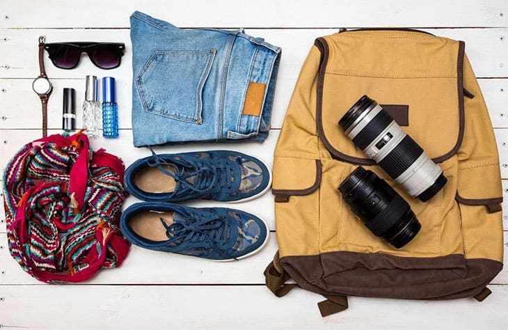 how to pack efficiently backpack