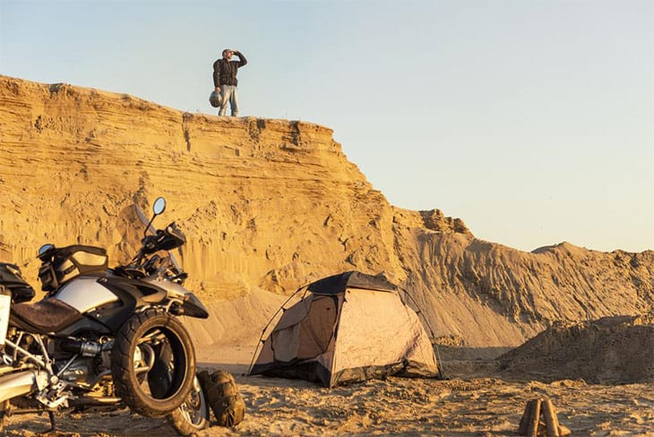 Why Should You Opt For Motorcycle Camping?