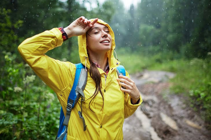 8 tips for backpacking in the rain