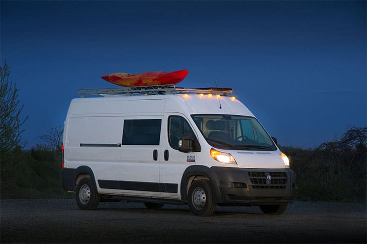 5. Off Grid Adventure Van