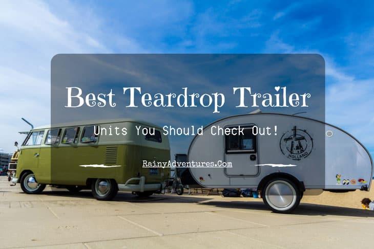best teardrop trailer
