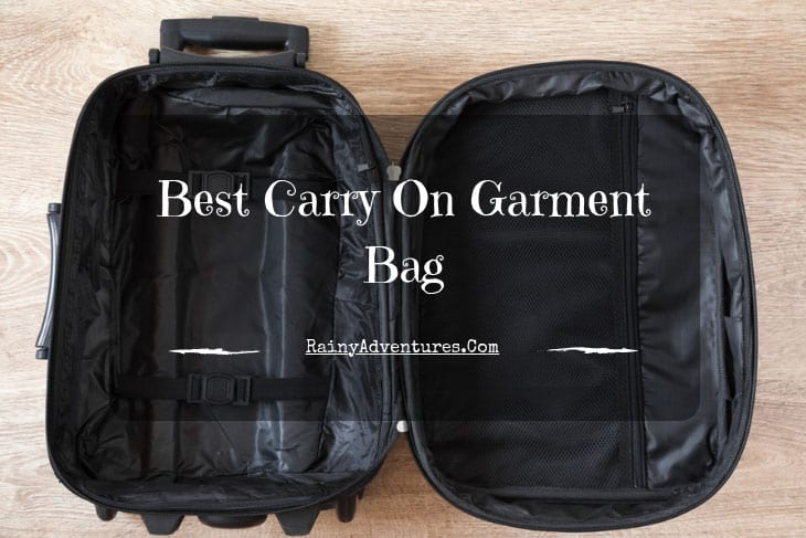6ed3c1ac1 Best Carry On Garment Bag | 2019 Reviews | Do NOT Buy Before Reading This!