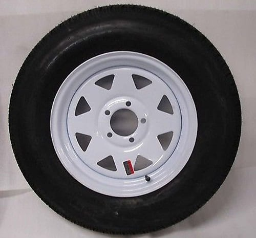 15 White Spoke Trailer Wheel with Bias Review