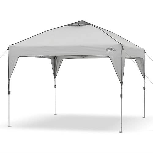 Core 10in X Instant Shelter Pop Up Canopy Review