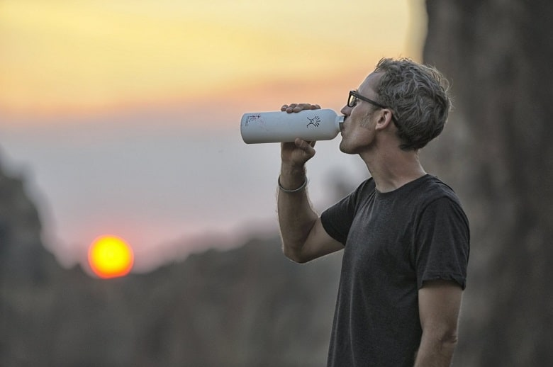 Drinking From Hydroflask