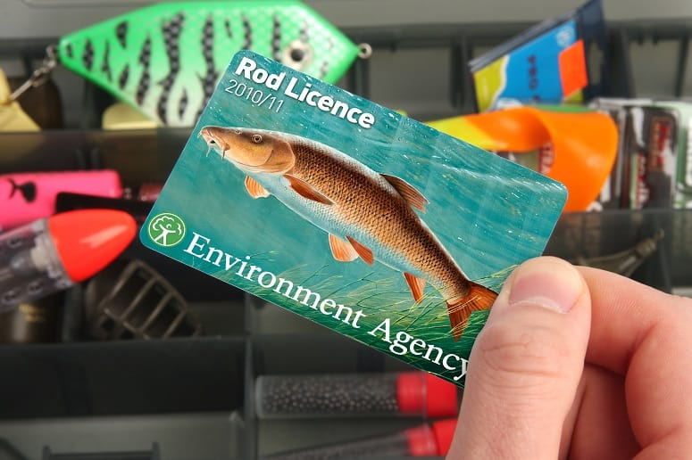 Holding Fishing Licence