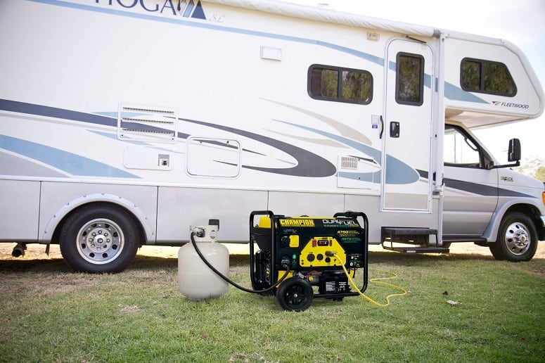How Much Fuel Does An RV Generator Burn? (Facts and Tips) | Rainy
