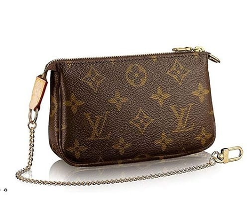 Louis Vuitton Canvas Mini Pochette