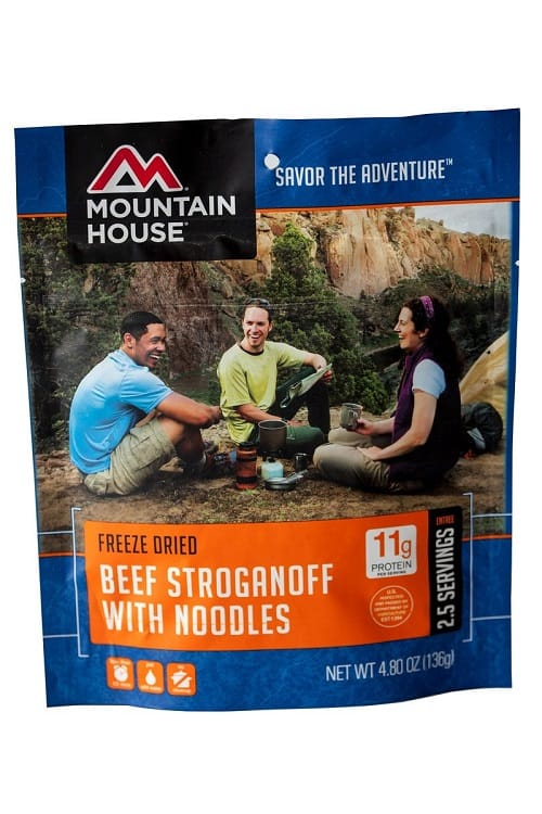 Mountain House Beef Stroganoff with Noodles Review