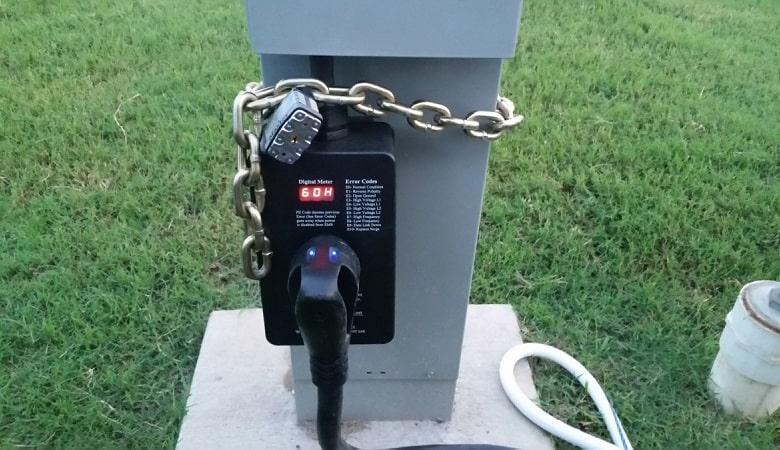 using surge protector