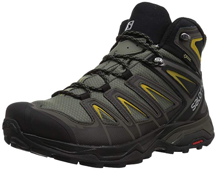 Salomon Mens X Ultra 3 Wide Mid GTX Hiking boots Review