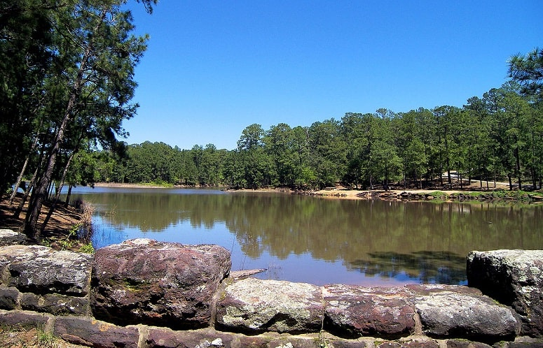Lake In Bastrop State Park​