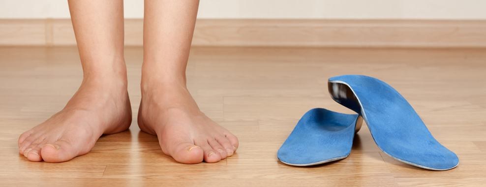 Wear Orthotics