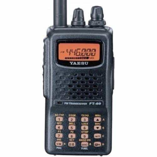 Yaesu FT-60R Dual Band Handheld 5W VHF - UHF Review