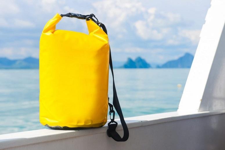 Yellow Water Resistant Bag