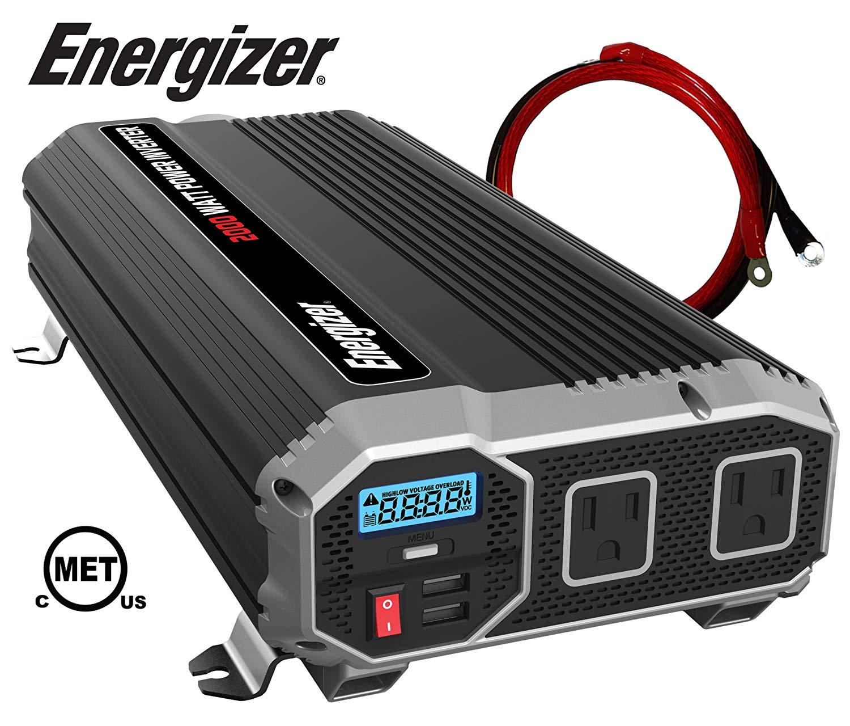 ENERGIZER 2000 Watt 12V Power Inverter Review