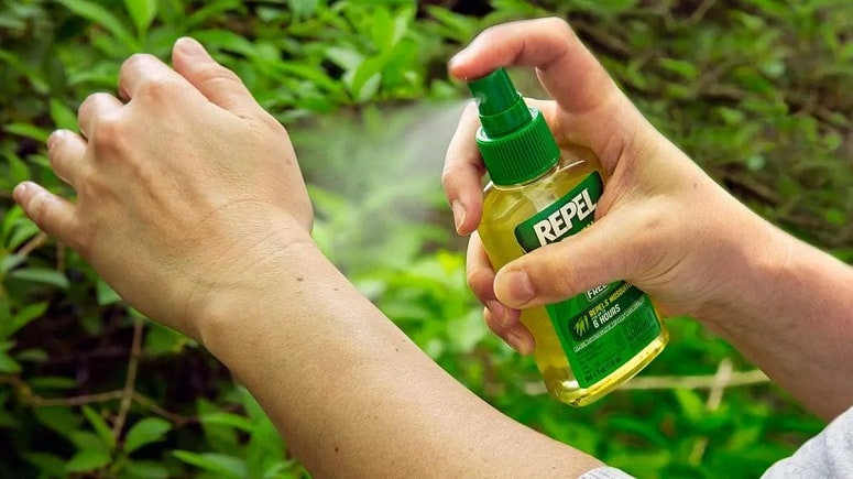 Spray type Insect Repellent