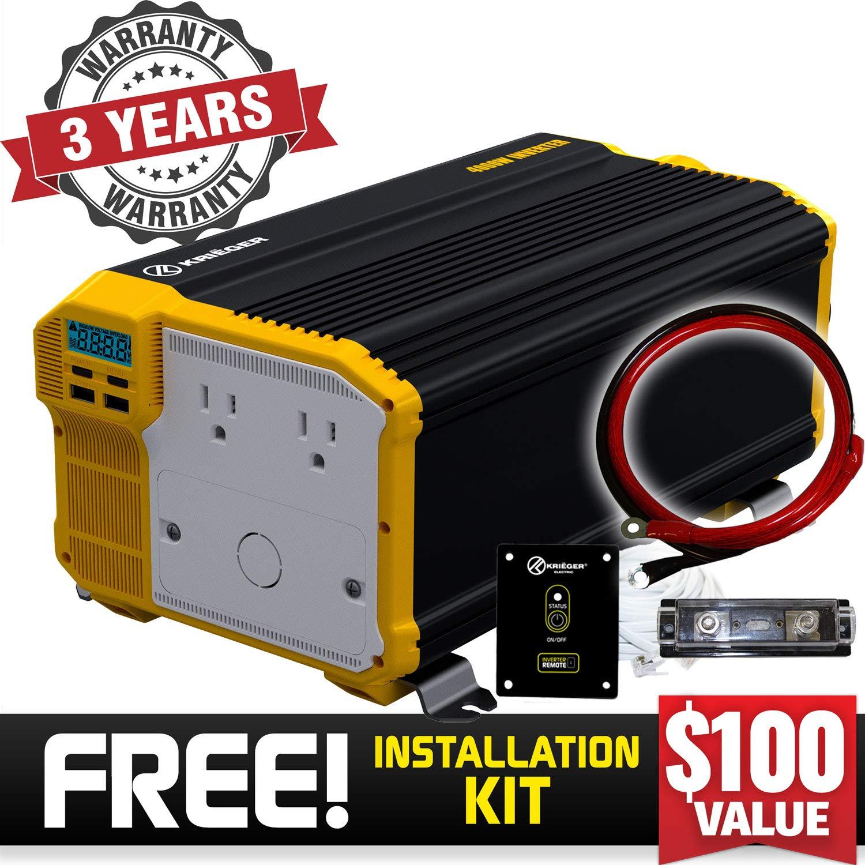 KRIËGER 4000 Watt 12V Power Inverter Review