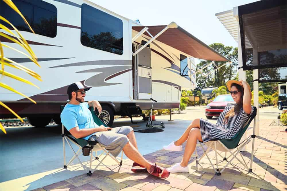 Camper and RV Toilet Systems
